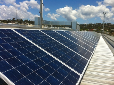 Club Sapphire - Commercial Solar Installation
